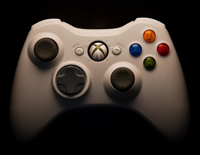Xbox 360 Controller, by Dan Greiner