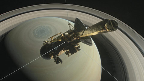 Cassini Rendering - NASA