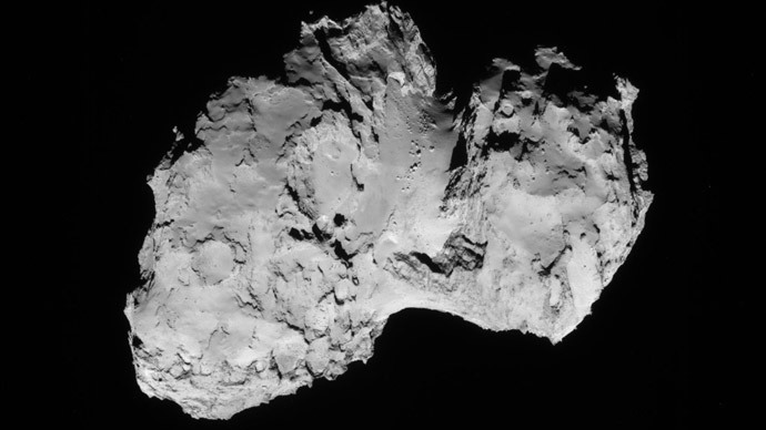 Comet Churyumov-Gerasimenko [Credit: NASA]