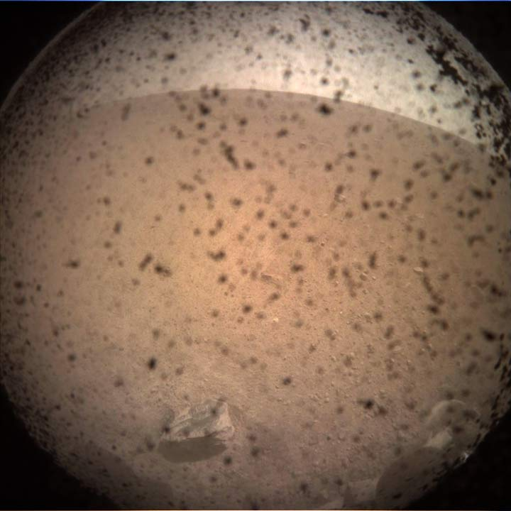 First InSight Photo from Mars
