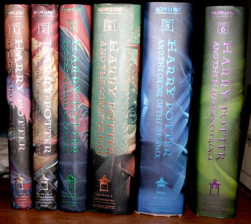 Harry Potter Books | Credit: Carolyn Williams - https://www.flickr.com/photos/carolynwill/677507818/