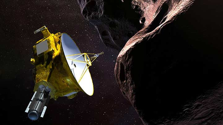 New Horizons spacecraft | Credit: NASA/JHUAPL/SwRI