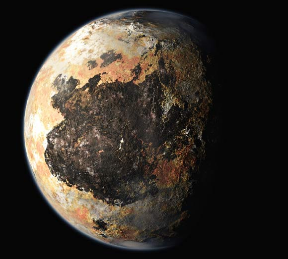 Artist Rendering of Pluto | Credit: NASA / Johns Hopkins University Applied Physics Laboratory / Southwest Research Institute.