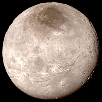 Pluto's moon Charon| Credit: NASA