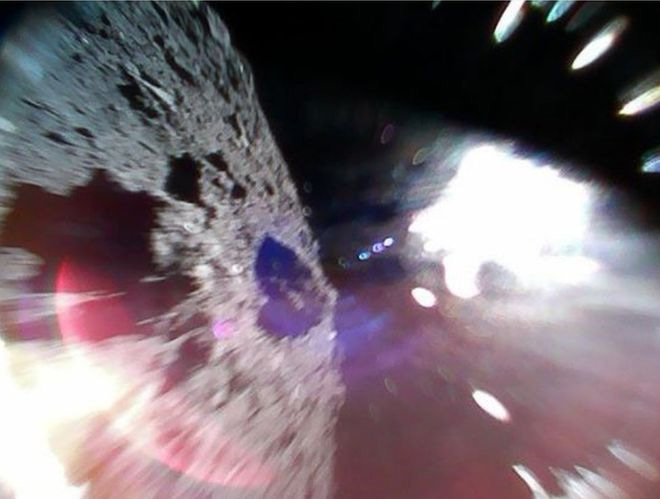 Ryugu Astroid on the ground| Credit: Japan Space Agency