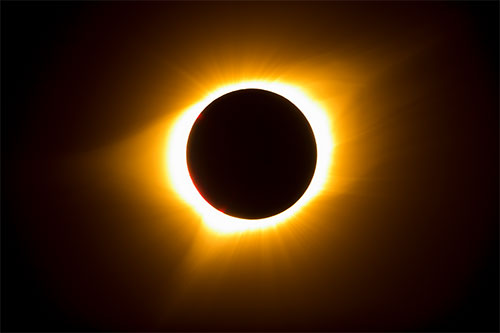 Totality of the Eclipse | Credit: Aaron Kunz