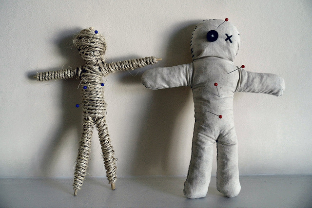 VooDoo Dolls | Credit: Siaron James | https://www.flickr.com/photos/59489479@N08/17940796562