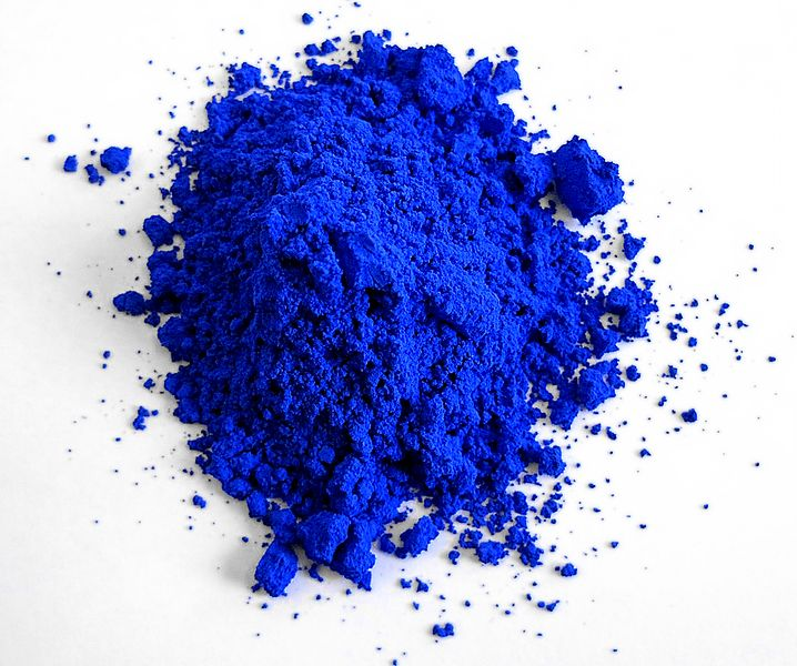 YInMn Blue | Credit: https://en.wikipedia.org/wiki/File:YInMn_Blue_-_cropped.jpg