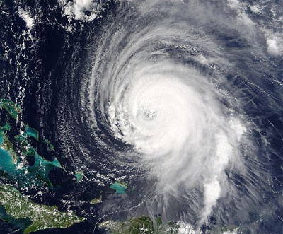 Hurricane from Space - NASA