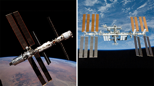 ISS in space | Credit: NASA