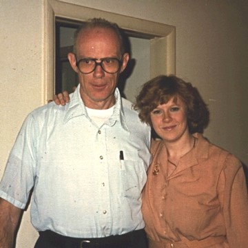 Joan and her dad